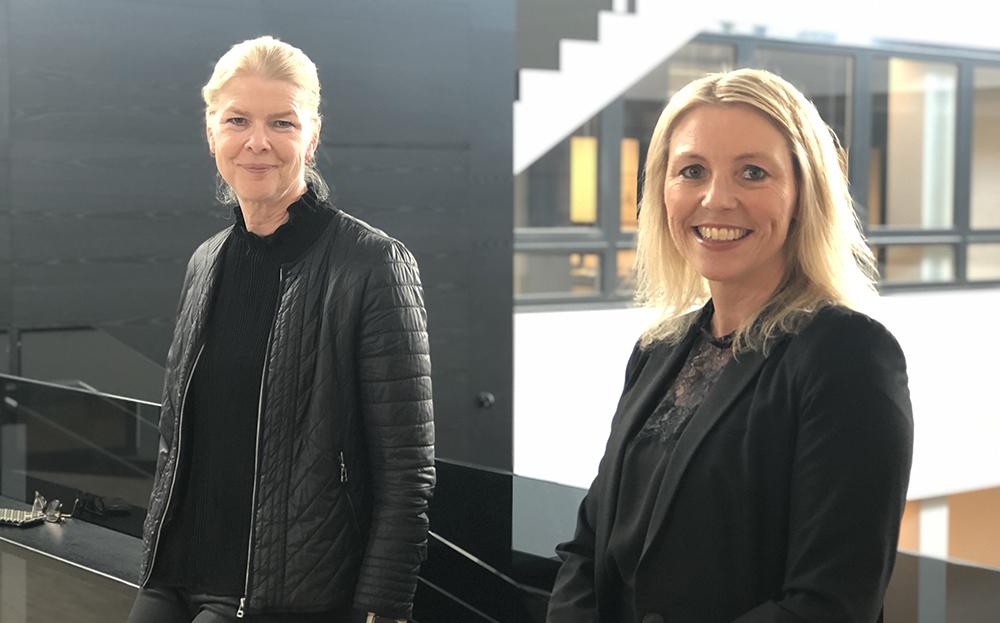 Malin Frenning och Marie Trogstam på AFRY tror på samverkan för att skapa ett hållbart samhälle.