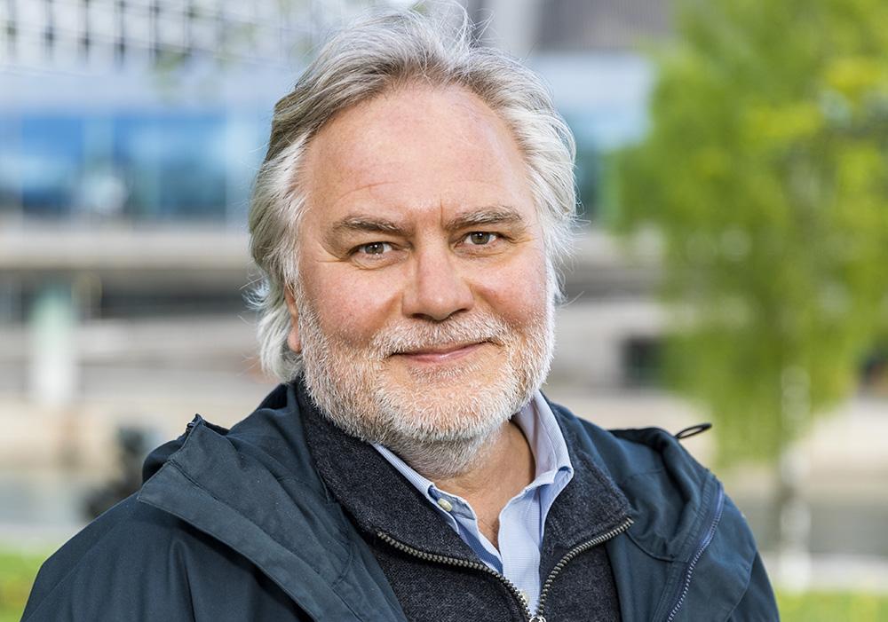 Jonas Bjarne, forskningssekreterare på Stiftelsen för strategisk forskning. Foto: Gonzalo Irigoyen