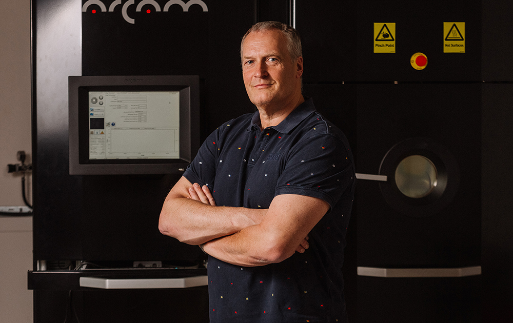 Thomas Hansson, ansvarig för forskningsprogrammet Podfam. Foto: Calle Appelqvist