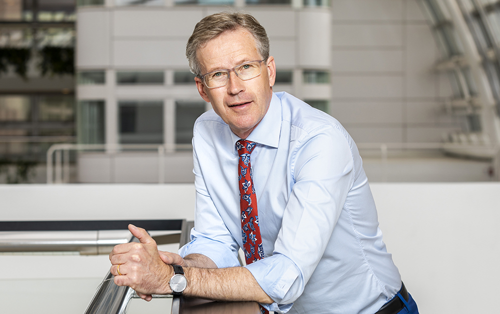Lars Hultman, vd på Stiftelsen för strategisk forskning. Foto: Gonzalo Irigoyen