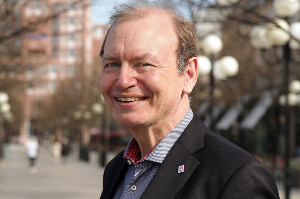 Gert Nilson, teknisk direktör på Jernkontoret.