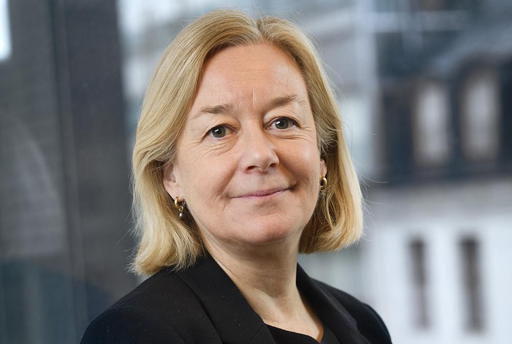 Marika Hedin, vd för Riksbankens Jubileumsfond. Foto: Stefan Tell