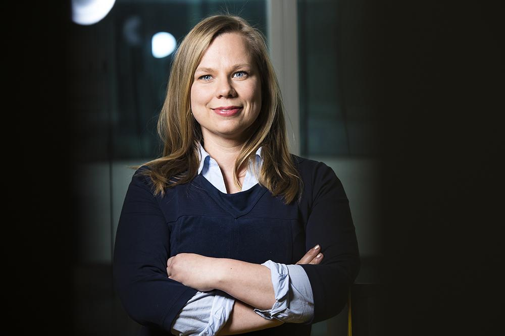Kristiina Tammimies forskargrupp vill skapa en riskmodell för att tidigt fånga upp barn med NPF. Foto: Johan Marklund