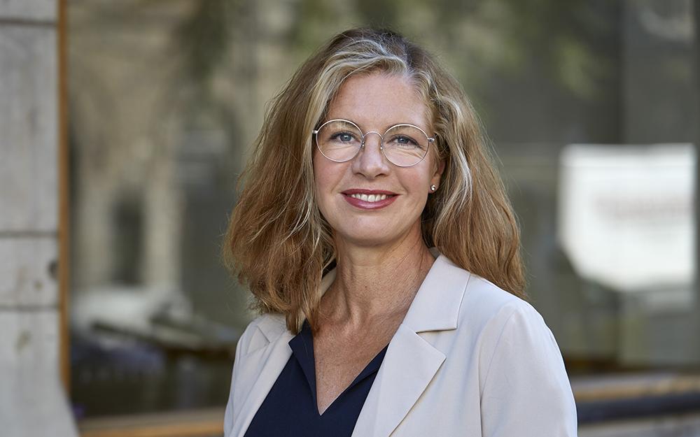 Eva Schelin, vd för KK-stiftelsen. Foto: Johan Olsson