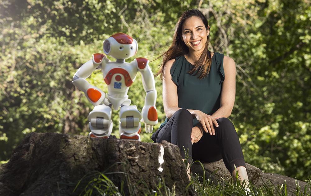 Iolanda Leite, biträdande lektor i robotik, perception och lärande. Foto: Johan Marklund