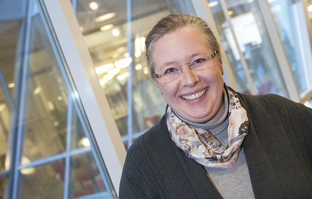 Margareta Groth, enhetschef på Industriell utveckling på Vinnova. Foto: Anette Andersson