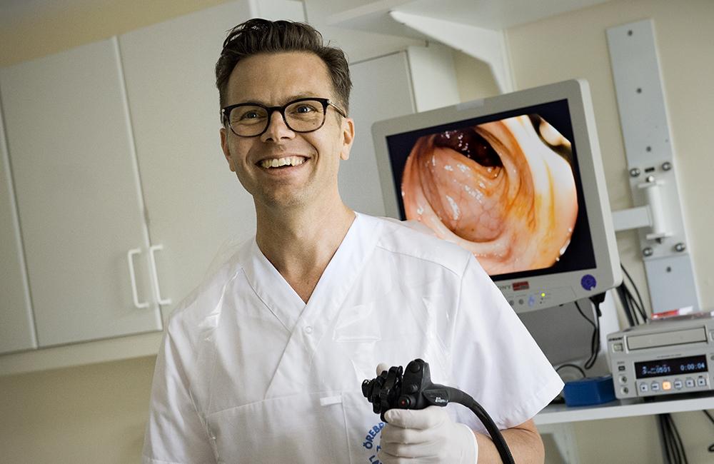 Jonas Halfvarson, professor vid Örebro universitet. Foto: Kicki Nilsson / Icon Photography