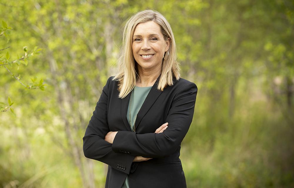 Jenny Greberg, programdirektör för Swedish Mining Innovation. Foto: Viveka Österman