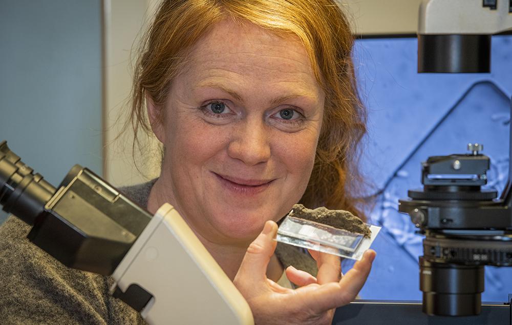 Edith Hammer, forskare vid Biologiska institutionen vid Lunds universitet. Foto: Jan Nordén