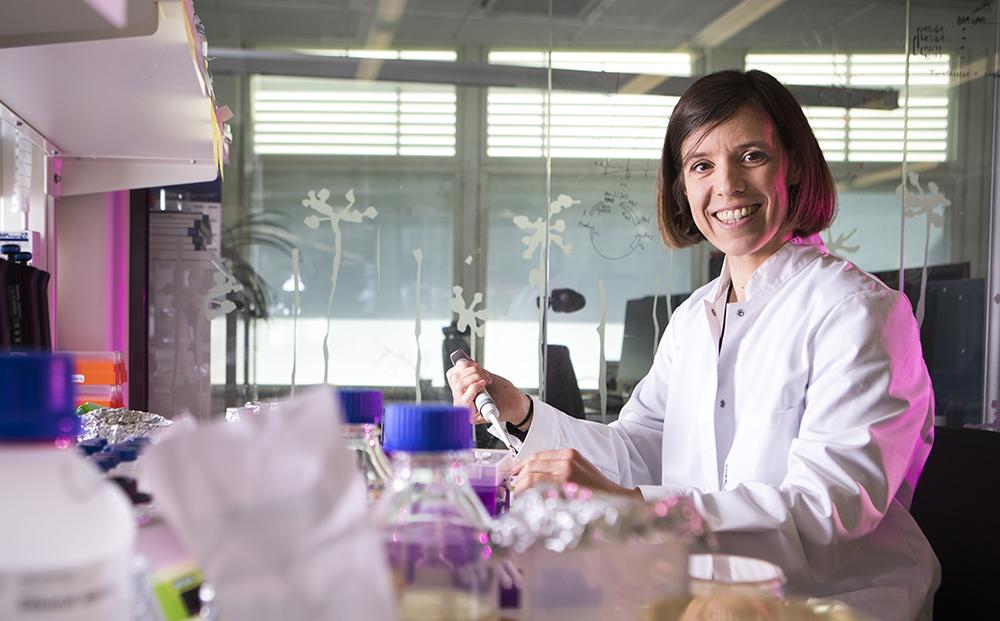 Kristina Jonas, docent i molekylär biovetenskap på Stockholms universitet. Foto: Johan Marklund