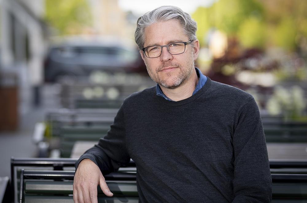 Sven Nelander, professor i integrativ cancerforskning vid Uppsala universitet. Foto: Mikael Wallerstedt