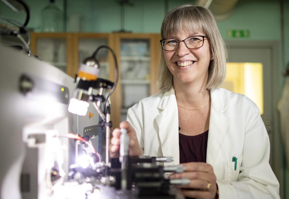 Ingela Lanekoff, docent i analytisk kemi. Foto: Mikael Wallerstedt
