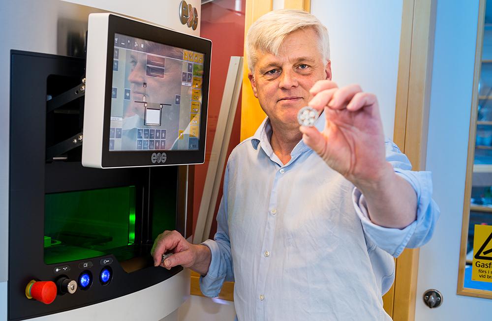 Ulf Jansson, professor i oorganisk kemi vid Uppsala universitet. Foto: Dan Pettersson / DP-Bild