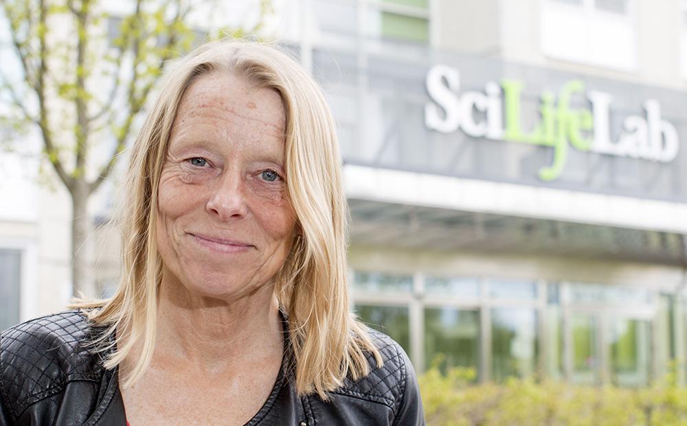 Siv Andersson, professor i molekylär evolution vid Uppsala universitet och vice vd för SciLifeLab. Foto: Mikael Wallerstedt