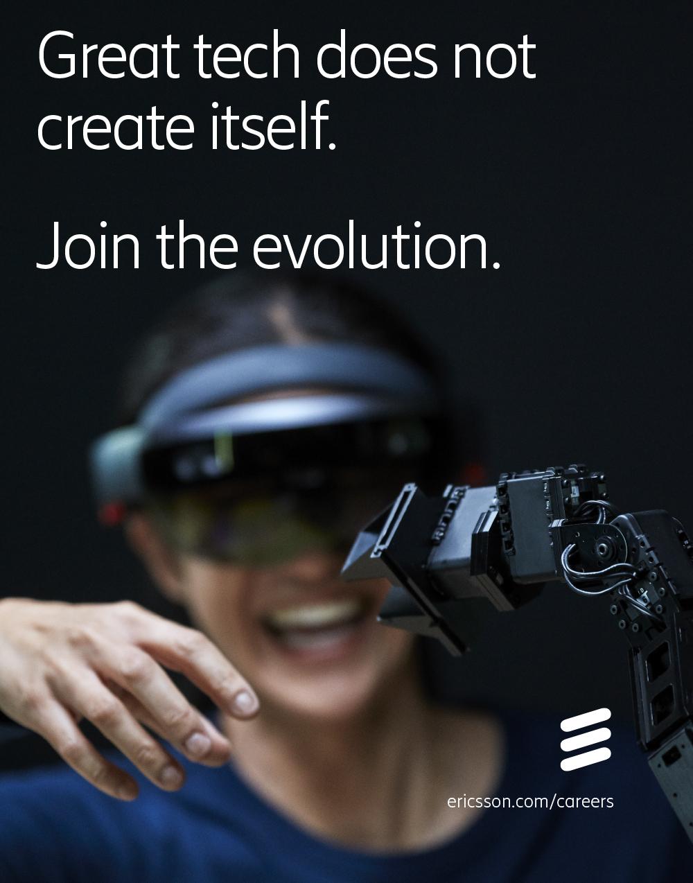 Ericsson annons