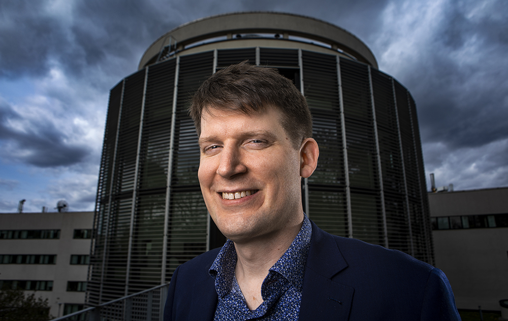 Pär Olsson, professor i fysik vid Kungliga Tekniska högskolan i Stockholm. Foto: Johan Marklund