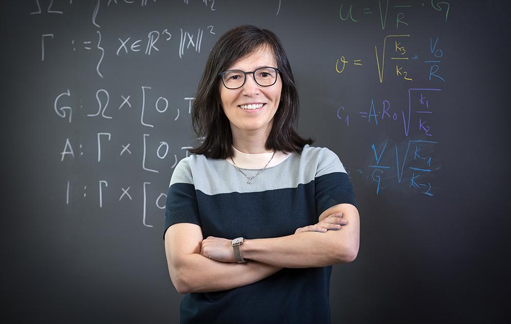 Marija Cvijovic, forskningsledare och professor i biomatematik vid Göteborgs universitet. Foto: Lisa Jabar / AnnalisaFoto