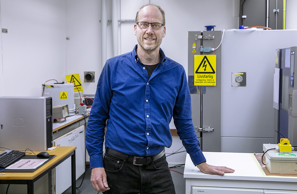 Olof Hjortstam, forskningsingenjör vid Hitachi ABB Power Grids och adjungerad professor vid Chalmers tekniska högskola. Foto: Per Groth