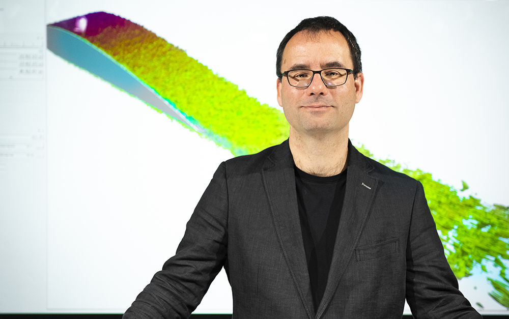 Tino Weinkauf, professor i visualisering vid KTH. Foto: Johan Marklund