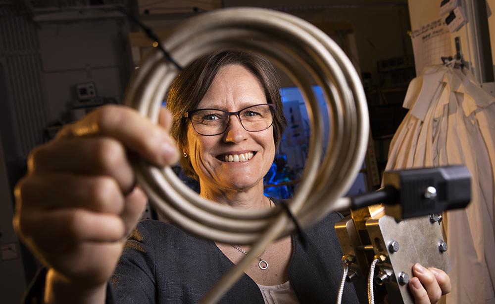 Carina Lagergren, professor i tillämpad elektrokemi vid KTH. Foto: Johan Marklund