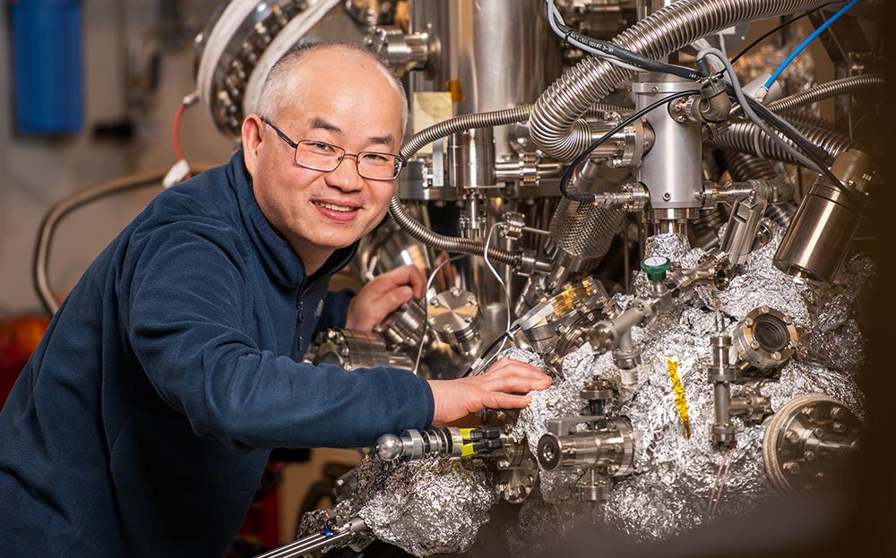 Xianjie Liu, docent vid Linköpings universitet. Foto: Martin Roth