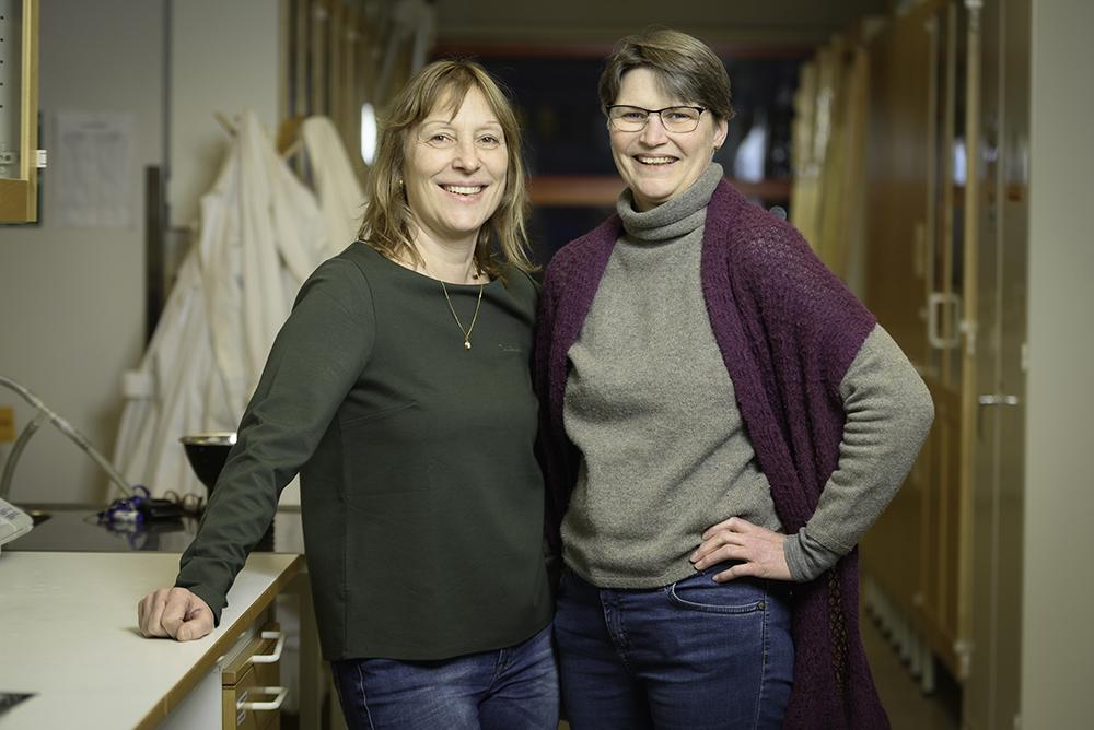 Lena Alakangas och Caisa Samuelsson, professorer på LTU.