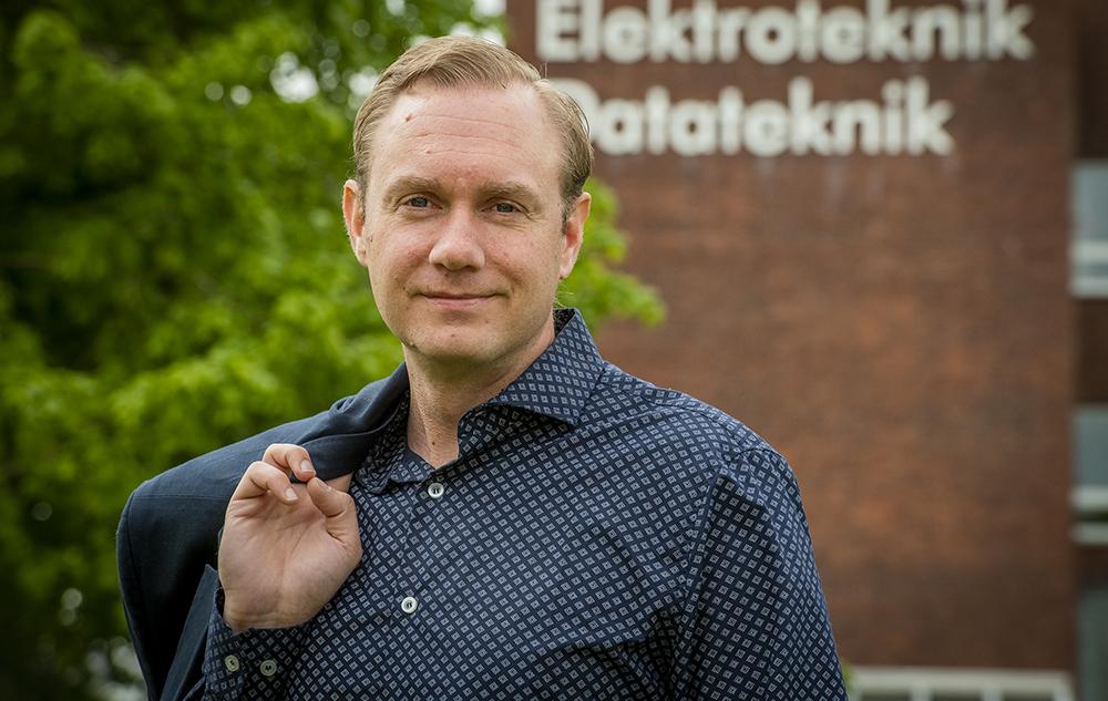 Martin Hell, lektor vid Institutionen för elektro- och informationsteknik vid Lunds tekniska högskola. Foto: Jan Nordén