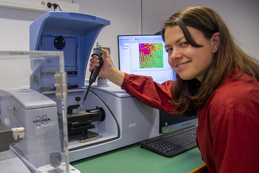 Milda Pucetaite, forskare på biologiska institutionen vid Lunds universitet. Foto: Jan Nordén