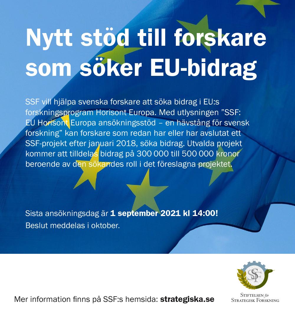 SSF annons