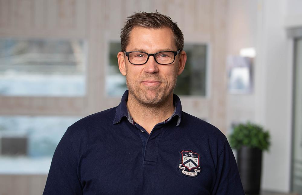 Andreas Johnsson, forskare på Swerim. Foto: Magnus Stenberg