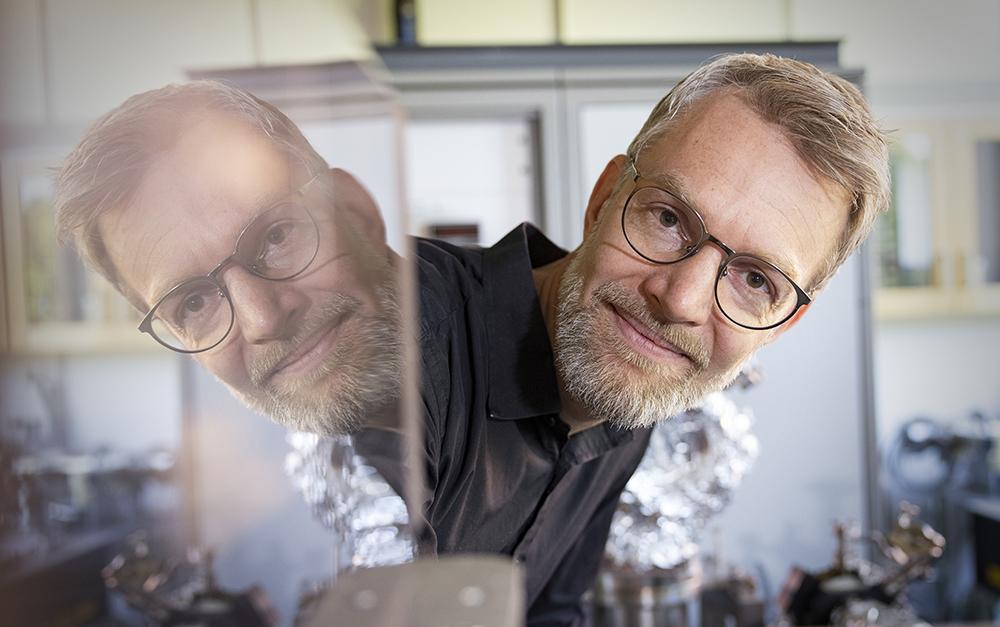 Oscar Grånäs, forskare vid Institutionen för fysik och astronomi vid Uppsala universitet. Foto: Mikael Wallerstedt